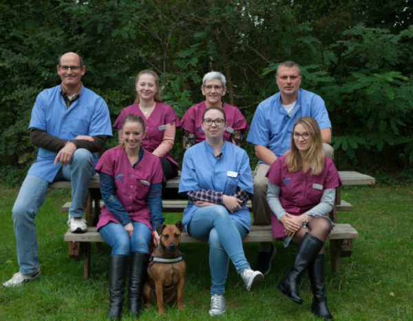 Equipe vétérinaire de la clinique Couhé